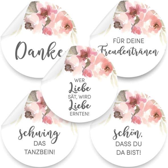 Produktbild Aufkleber Blumenmeer