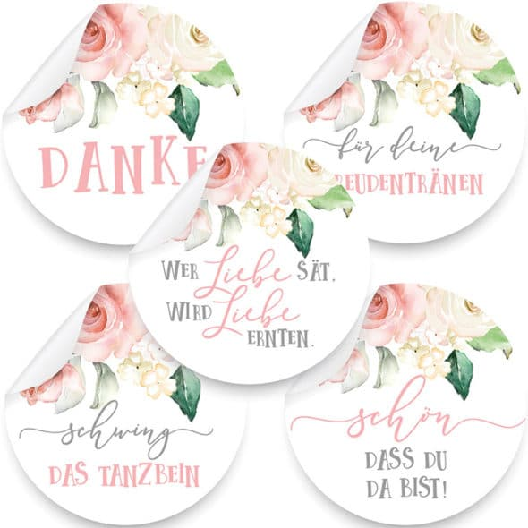 Aufkleber Roses Produktbild