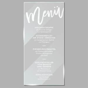 Acrylglas Menü Trendy 1902110