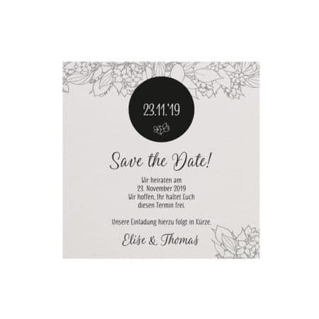 Belarto Save the Date Karte 727525