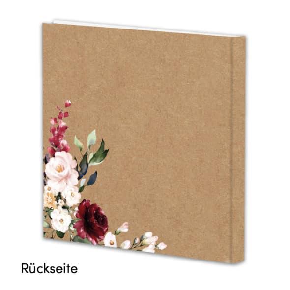 Gästebuch Vintageflower Guest06