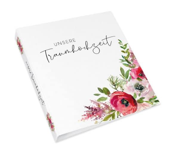 ORDNER – UNSERE TRAUMHOCHZEIT Watercolorflower